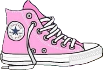 converse shoes clipart. converse pink tennis rosado freetoedit shoes clipart