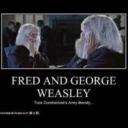 funny fredweasley goergeweasley harrypotter