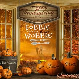 gobble thanksgivingstickerremix mythanksgiving modernart freetoedit