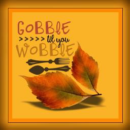 freetoedit myedit leafs thanksgivingstickerremix
