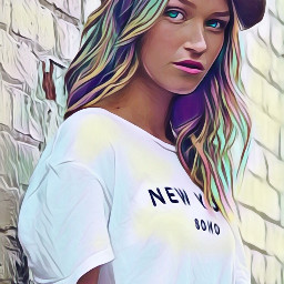 freetoedit colorfulhair colorful bright