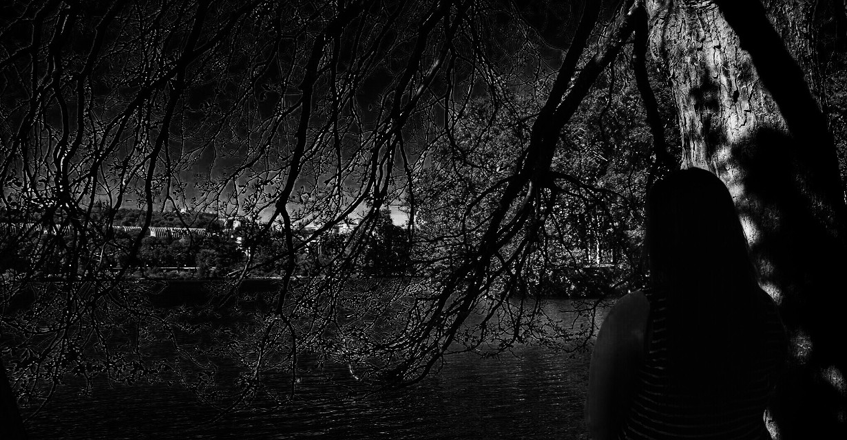 Darkness #interesting #photography #nature #night #sky #dark #freetoedit
