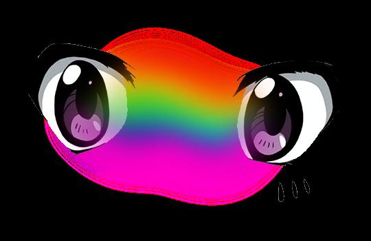 Anime Eyes Cute Tumblr Vaporwave