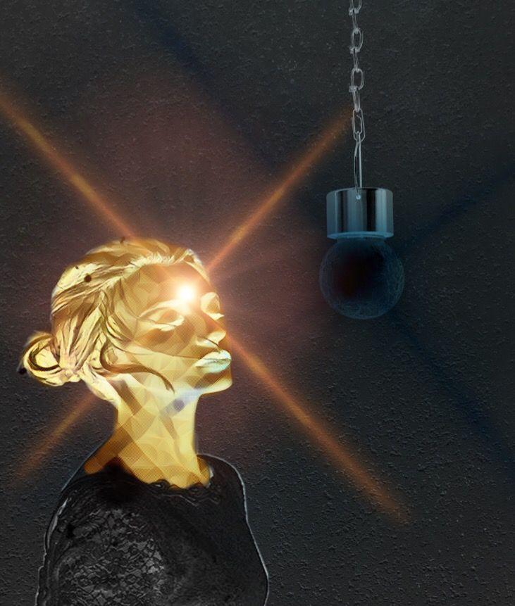 #freetoedit #darkness #shineyourlight #brighten #light #lightbulb #lensflare