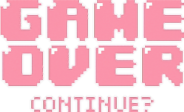 Game Over Game Over Gameover Sweet Pink Gamegirl
