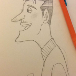 quirky character sketch
