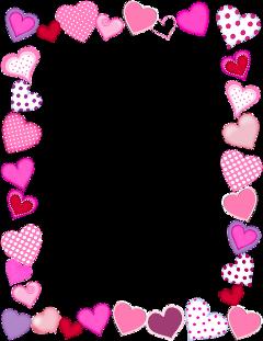 fte frame hearts freetoedit