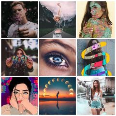 Make,an,awesome,collage,of,the,Top,9,moments,you,experienced,this,year,and,share,it,with,PicsArt,for,the,win!