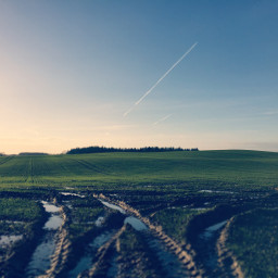 nature evening sky mud agriculture