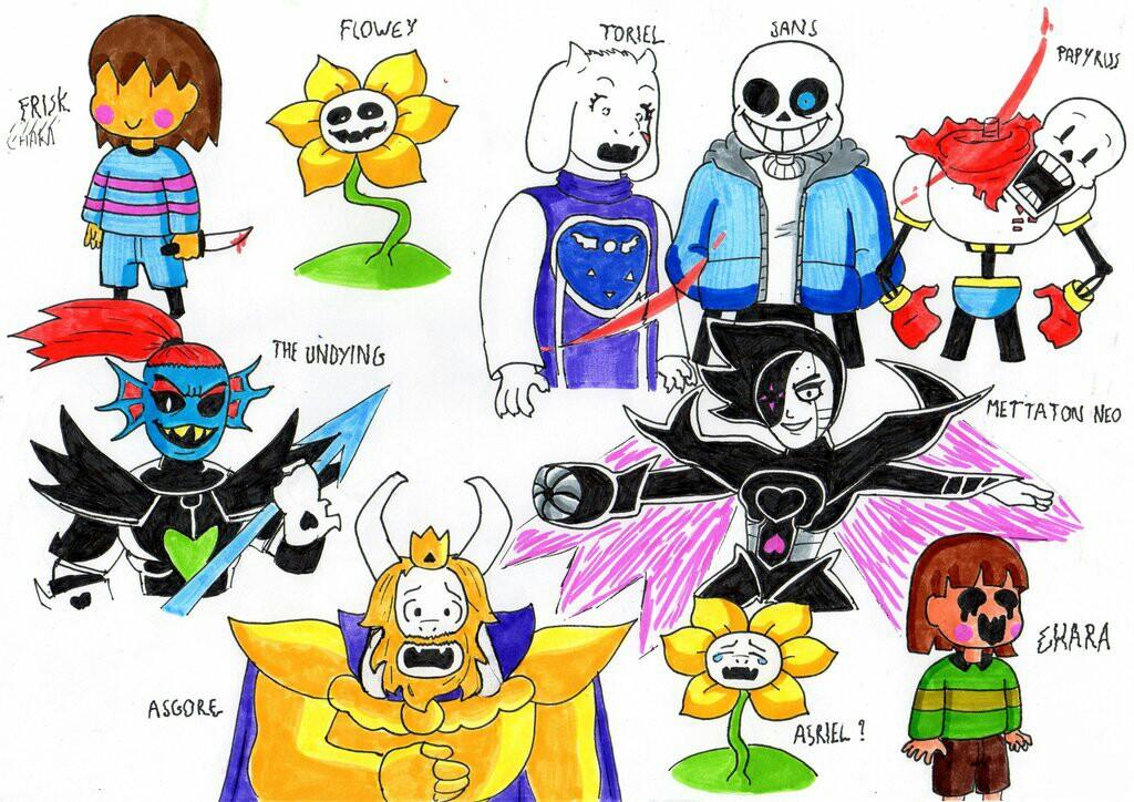 картинки героев андертейла с именами появилась возможность добавления