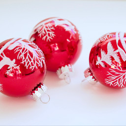 freetoedit christmasdecoration christmas objects red