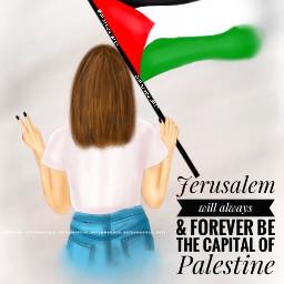 palestine peace pray love capital freetoedit