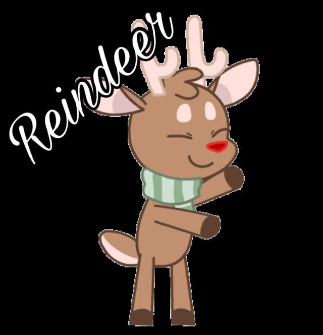 #christmas#reindeer#december#art #freetoedit