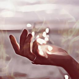 fire hand hands hot warm freetoedit