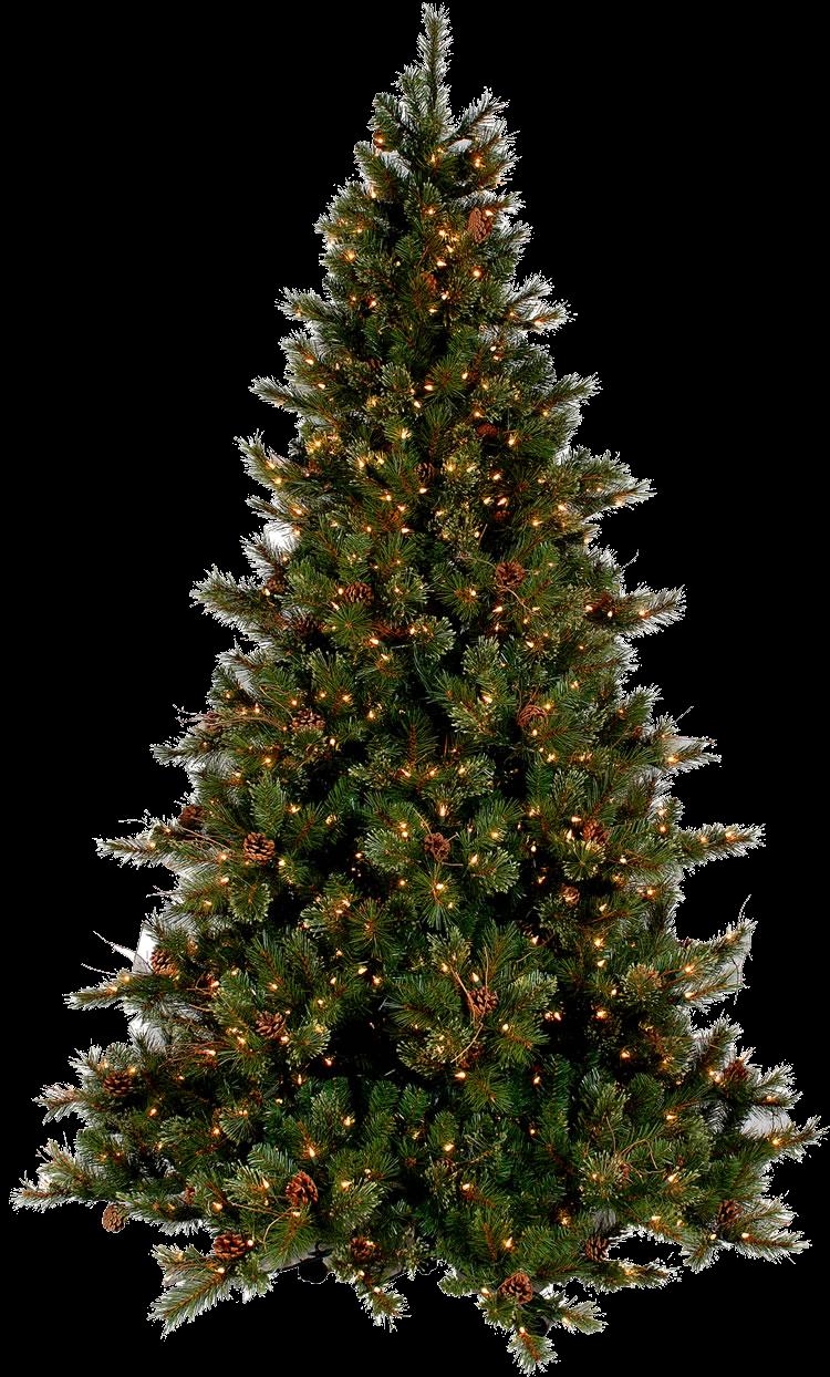 #tree #christmastree #christmas #decor #lights #pinecone#freetoedit