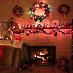 pcfireplace fireplace freetoedit remix colorful