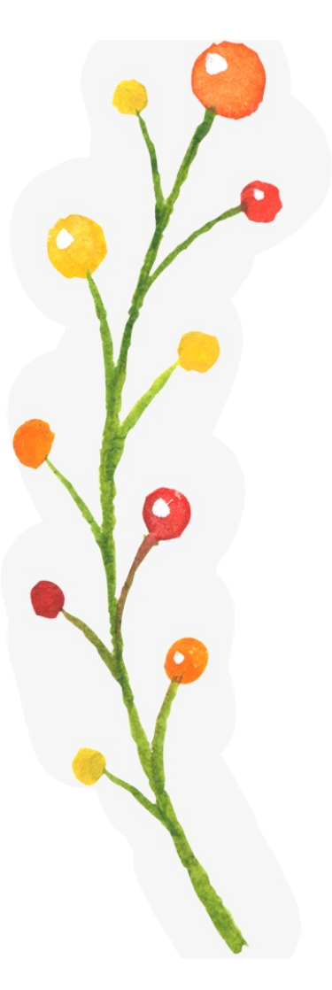 #floral #plants #berries