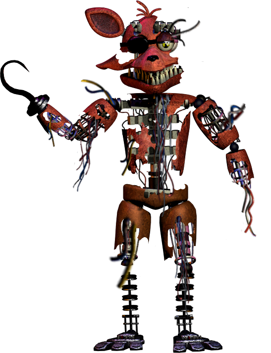 #destroyed foxy