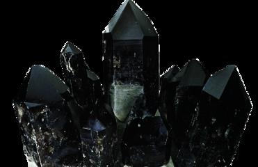 cristal cuarzo negro black freetoedit
