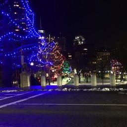 freetoedit lights colorfull christmaslights street pclights