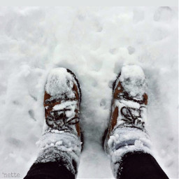 pcwinterwear winterwear freetoedit shoeselfie snow