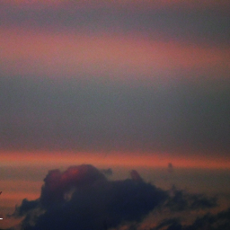 myphoto skyandclouds pinklight
