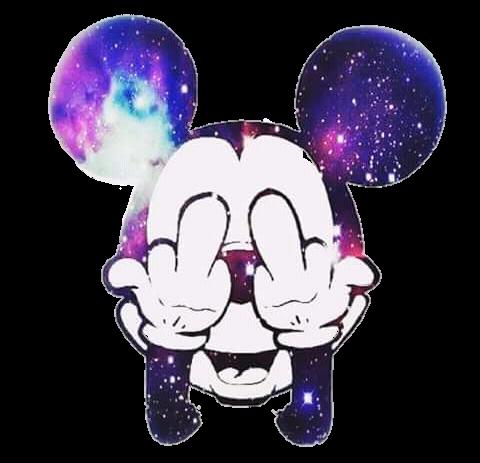 Mickey Mickeymouse Tumblr Dedomedio Artfashion Galaxy