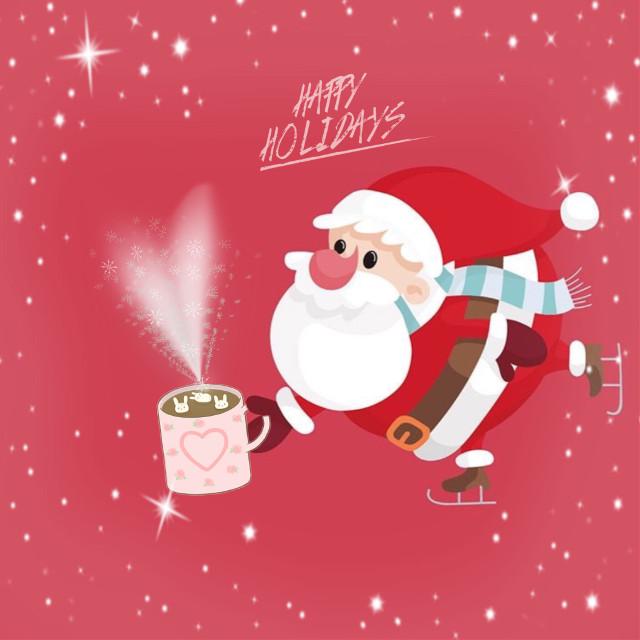#freetoedit #madewithpicsart #myedit #santa #bigmug