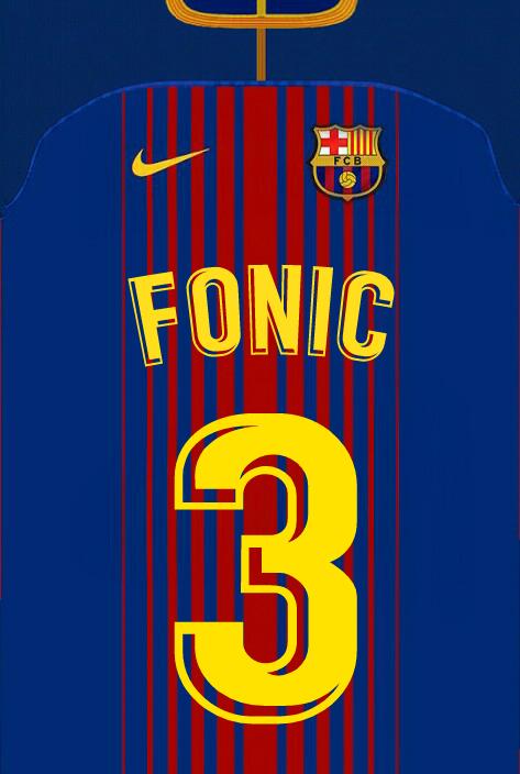 Still didn't got that original barcelona 2017/18 fonts