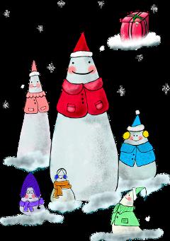 snowman freetoedit