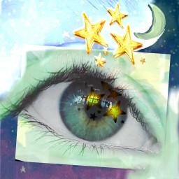 freetoedit stars stickeroftheday stickerofthedayremix eyeart