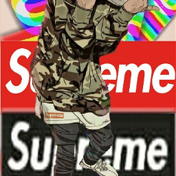 wallpaperedit supreme trasher gucci freetoedit