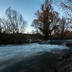 water river longexposure