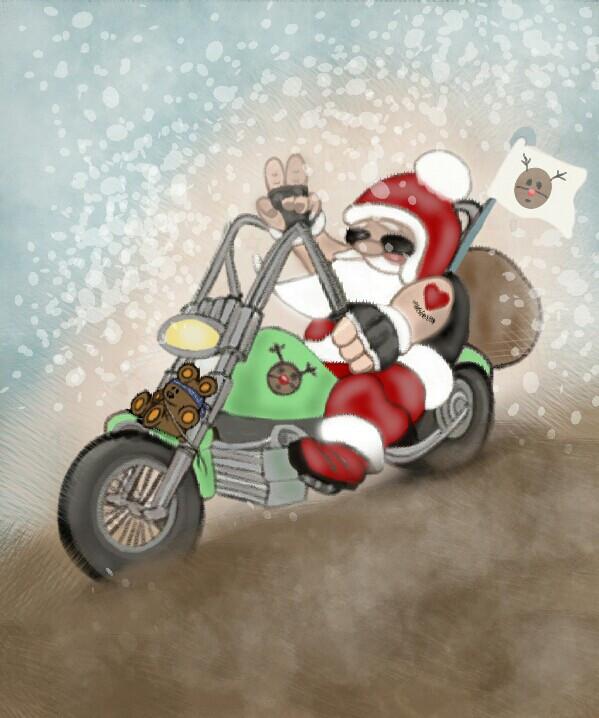 #dcmodernsanta.. Christmas Bike Giveaway always bring 🎁 for kids toys each years .. Warmth Heart Spirituality.. #christmasbikegiveaway #motorcycle #ride #bike #motorbike