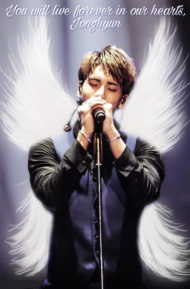 #Jonghyun #Shinee You will live forever in our hearts, Jonghyun