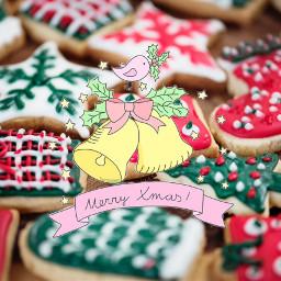 freetoedit merrychristmas merryxmas cookies bells