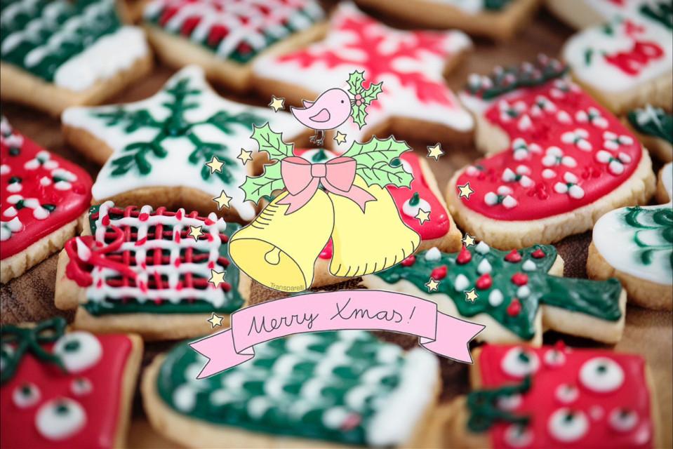 #freetoedit #merrychristmas #merryxmas #cookies #bells