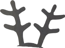 prop deer antlers deerantlers christmasiscoming freetoedit