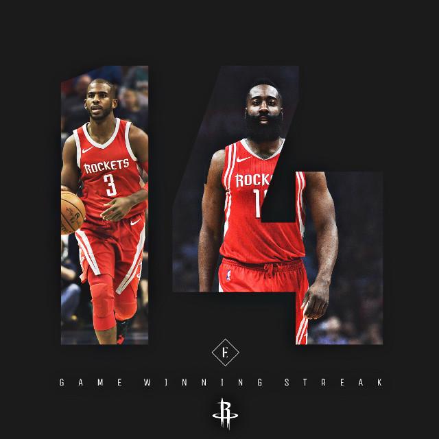 Houston had a great 14-game run #madewithpicsart #freetoedit #houston #usa #nba #basketball #picsart #art #nbaedits #design #today #friday #sports #f4f #follow4follow