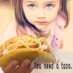 freetoedit fortheloveoftacos tacos girl cute