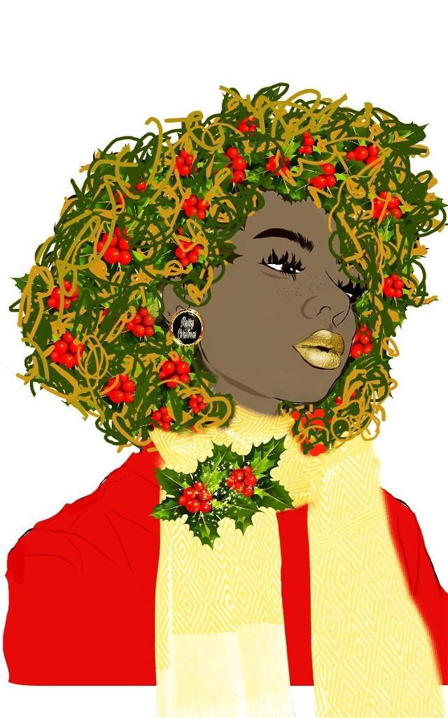 I think I've bonded with this woman lol amazing original by @smokingcyrus #decorationstickerremix #warmambereffect