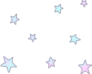 stars pink blue pastel pastelblue