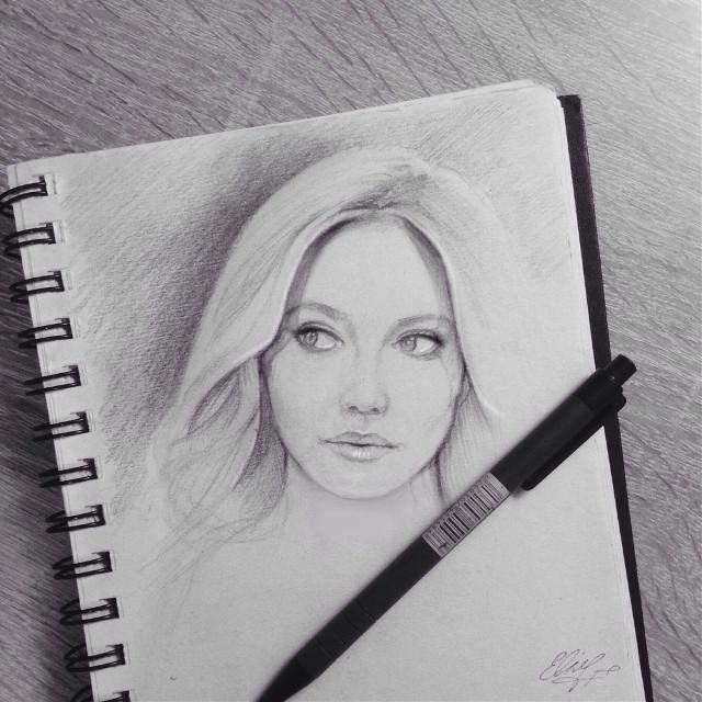 Dakota Fanning #drawing #art #fanart #dakotafanning