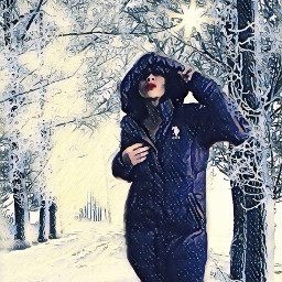 me whitechristmas wonderlandeffect selfie freetoedit