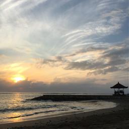 sunset summer bali masterpiece art