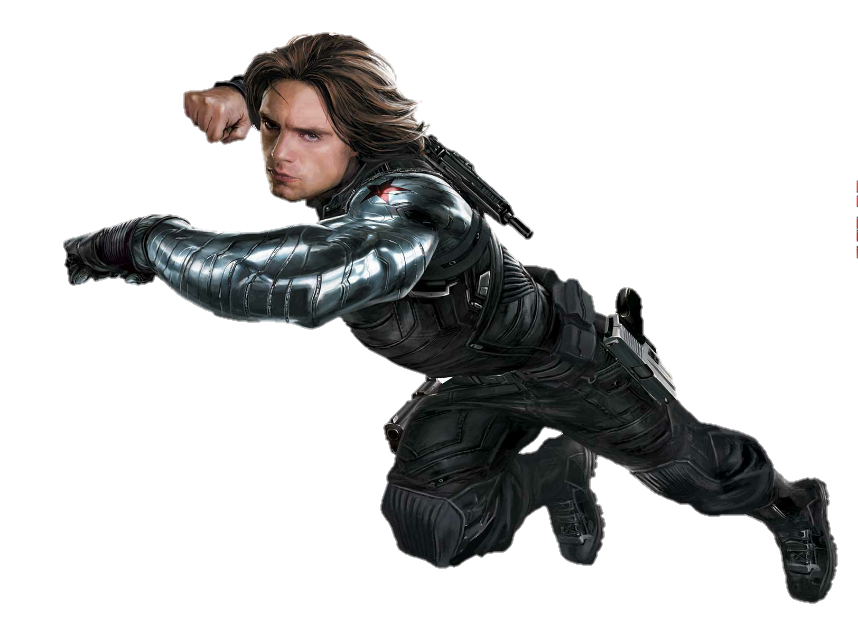 Bucky Buckybarnes Wintersoldier Captainamerica Png Stic