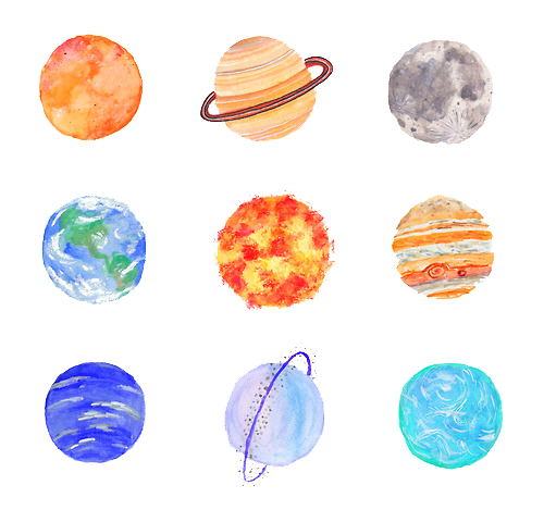 Top 9 Best Derpy Animal Stickers 2019: Tumblr Planets Aesthetic Vaporwave Sky Outerspace Freet