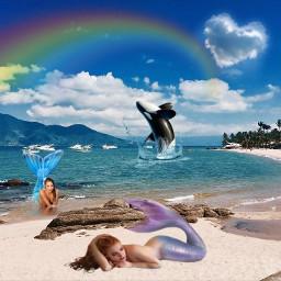 ecmytravel mytravel freetoedit mermaid beach