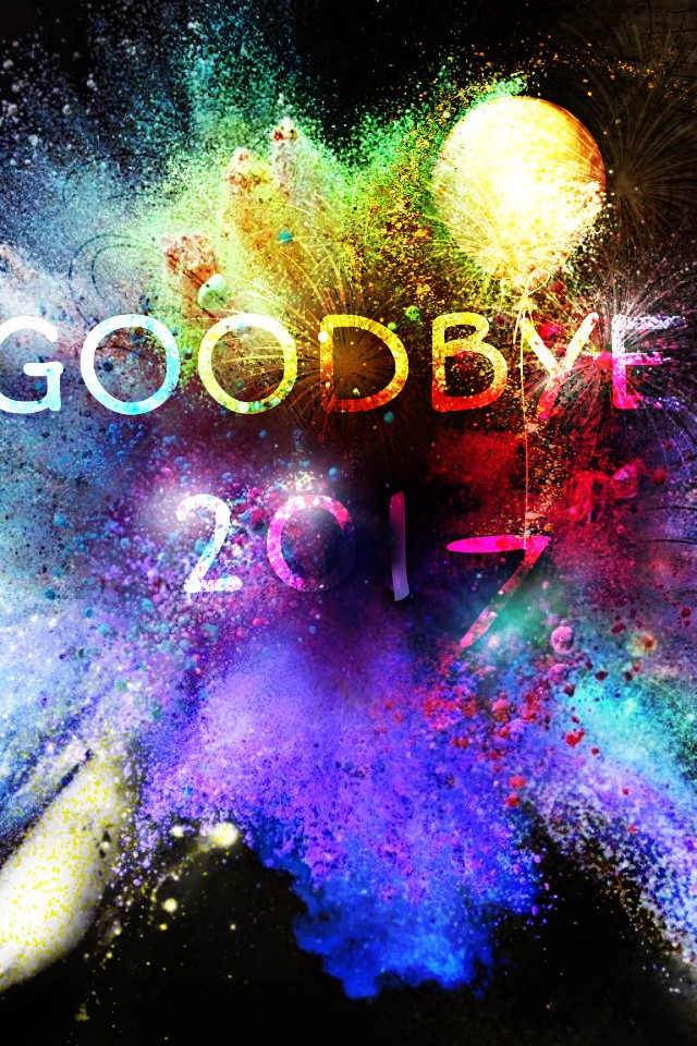#mystickerremixedit#goodbye2017