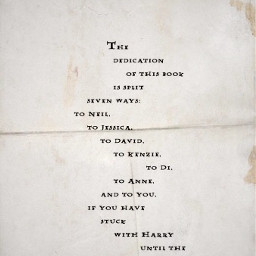 thedeathlyhallows dedication book harrypotter jkrowling freetoedit